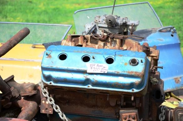 Mopar Hemi Engine