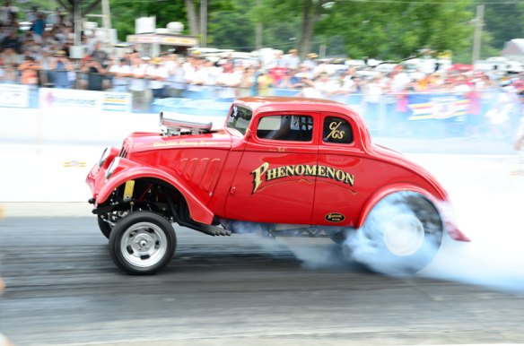 NHRA Hot Rod Reunion 2012