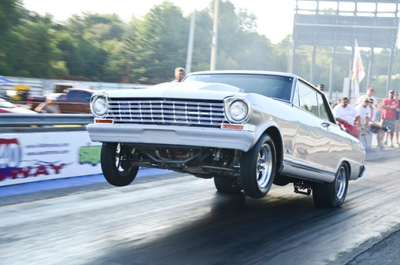 Stock Suspension Chevy II Wheelstand