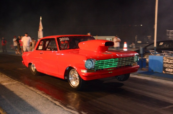 Chevy II Nova Drag Car