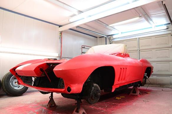 Corvette Fender Flare Wheel Well repair