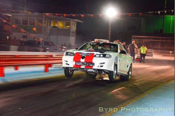 Ford Mustang Drag Racing