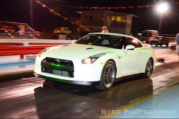 Nissan GTR Drag Racing