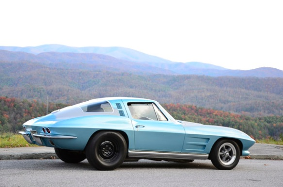 1964 Corvette coupe hot rod