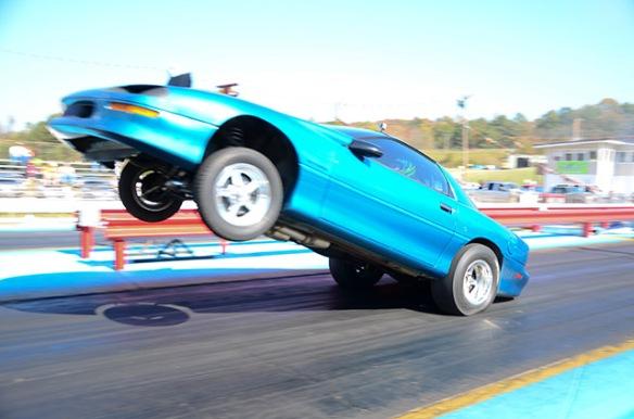 Camaro wheelstand